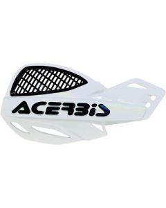 Acerbis Uniko Vented Handguards - White /Black