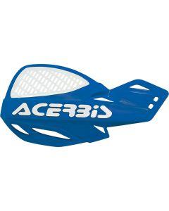 Acerbis Uniko Vented Handguards - Blue/White