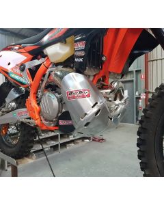 B&B Off Road Bashplate /Pipe Guard - KTM 250 300 2017-2018