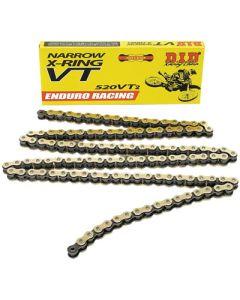 DID 520 VT2 Narrow Enduro Racing X-Ring Chain