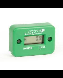RHK Green Hour Meter - Includes Free Mounting Bracket