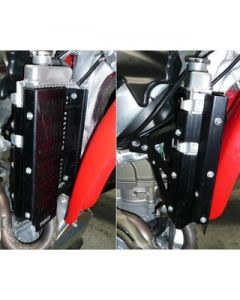Force Radiator Guards - HONDA CRF450X (05-16)