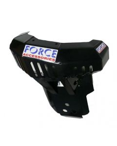 Ktm 250/300 Exc (14-16) Force Bashplate With Fmf/Ktm Powerparts Pipe Guard
