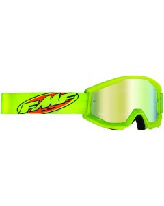 FMF POWERCORE YOUTH GOGGLE CORE YELLOW - MIRROR GOLD LENS