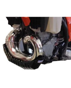 Ktm 250 /300 Exc /Husqvarna Te 250 /300 2017-2018 Force Bashplate With FMF Pipe Guard