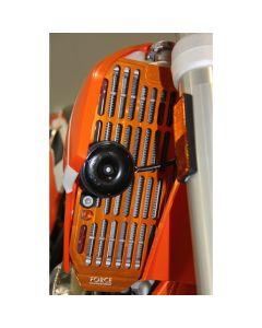 Force Billet Radiator Guards - KTM 125+ (08-17) /Husaberg 250+ (13-17) /Husqvarna 250+ (14-17)