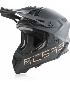 Acerbis Steel Carbon Helmet - 940g Black