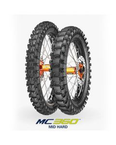 Metzeler Mc 360 120/100-18 64M Mid Hard Rear Tyre