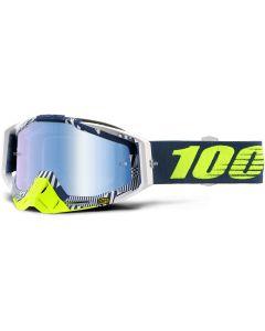 100% Percent Racecraft Eclipse Blue Tinted Goggles at Bits4Dirt