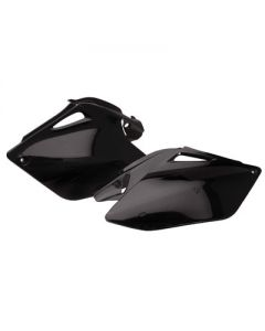 Polisport - Black Side Panels CRF250R 2006-2009