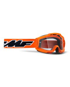 FMF POWERBOMB YOUTH GOGGLE ROCKET ORANGE - CLEAR LENS
