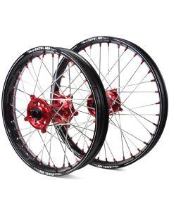 Excel Honda Cr/ Crf 125/ 250/ 450 Black/ Red A60 Wheel Set