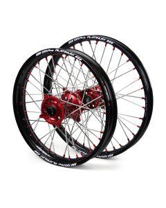 Sm Pro Honda Crf250r/ Crf450r Black/ Red Platinum Wheel Set
