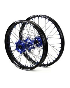 Sm Pro Ktm Sx/ Sxf Husqvarna Fc/ Tc Black/ Blue Wheel Set