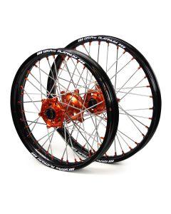 Sm Pro Ktm Sx/ Sxf 15-17 Black/ Orange Platinum Wheel Set