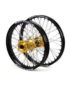Sm Pro Suzuki Rmz 250/ 450 Black/ Gold Platinum Wheel Set