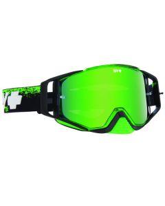 Spy Ace MX Goggles Masked Green W/Smoke Green Spectra