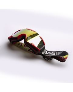 View - Volume I MX Goggles Red