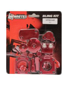 Whites Bling Kit Red CRF450R (09-16)