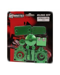 Whites Bling Kit Green KX250F / 450F (09-16)